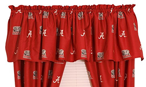 College Covers Alabama Printed Curtain Valance