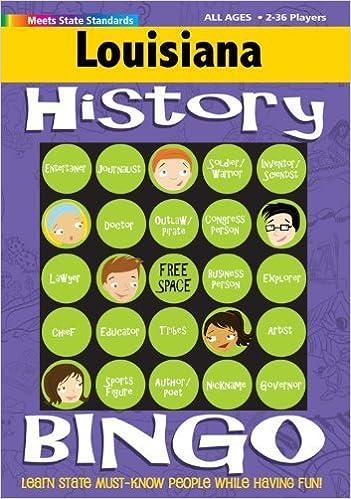 Louisiana Bingo: History Edition by Carole Marsh (2001-07-03)