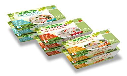 Jusano Shirataki Noodles - Probierpaket, 1er Pack (1 x 1.5 kg)