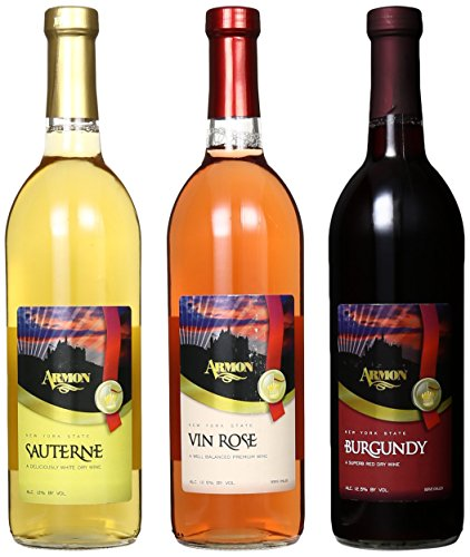 Armon Traditional Wines Mixed Pack, 3 x 750 mL Wine