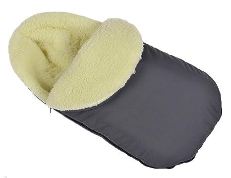 Baby Saco Saco de invierno para carrito lana acrílica de ...