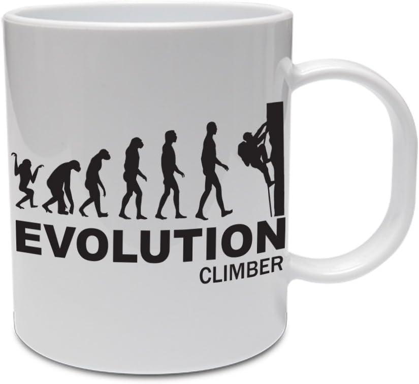 Evolución lución - Escalada/Deporte/divertida/chistosos/taza ...