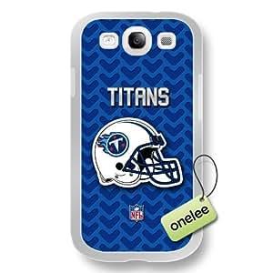 NFL Tennessee Titans Team Logo Diy For SamSung Galaxy S5 Mini Case Cover White PC(Hard) Soft - White