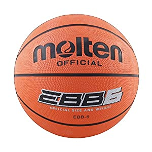 Molten EBB6 - Basketball, orange, Größe 6
