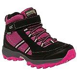 Regatta Great Outdoors Childrens/Kids Trailspace II Mid Walking Boots (US 3) (Jem/Black)
