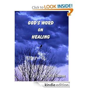 God's Word on Healing Lee Ann Rubsam