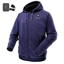 ORORO Cordless Heated Hoodie Kit with Battery Pack