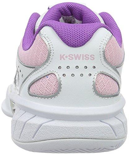 K-Swiss Express 100 Mesh - Zapatillas para mujer, color blanco