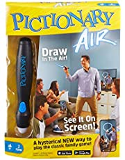 Pictionary Air Drawing Game, Family Game with Light-up Pen and Clue Cards, Links to Smart Devices, Makes a Great Gift for 8 Year Olds and up