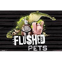 Secret Life Of Pets- Flushed Pets Poster 22 x 34in