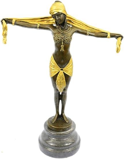 Handmade European Bronze Sculpture VINTAGE FRENCH EMPIRE