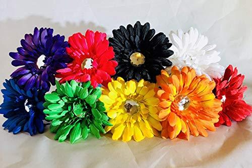 Rainbow Daisy Flower Pen Wedding or Office Decor - Choose Your Color