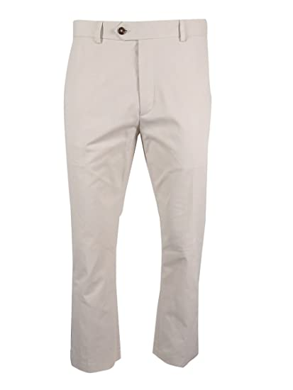 Tasso Elba Mens Light Fabric Regular Fit Chino Pants