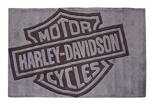 (Harley-Davidson Bar & Shield Small Area Rug, Handmade Tufted Rug HDL-19503)
