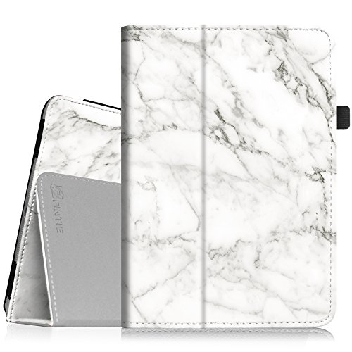 iPad mini 1/2/3 Case - Folio Slim Fit Stand Case with Smart Cover Auto Sleep / Wake Feature for Apple iPad mini 1 / iPad mini 2 / iPad mini 3, Marble