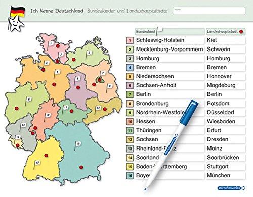Ich Kenne Deutschland Bundeslander Und Landeshauptstadte Fur