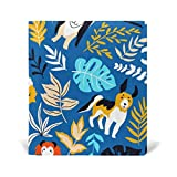 Book Covers Notebook Textbook Jumbo Size School Educational Supplies Office Homecoming Blue Dog