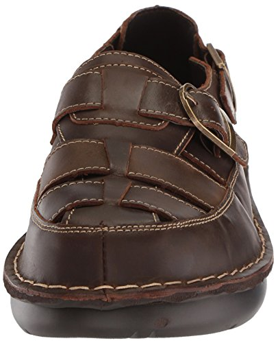 Sandal Brown Villager Propét Men's Fisherman BxRqSA