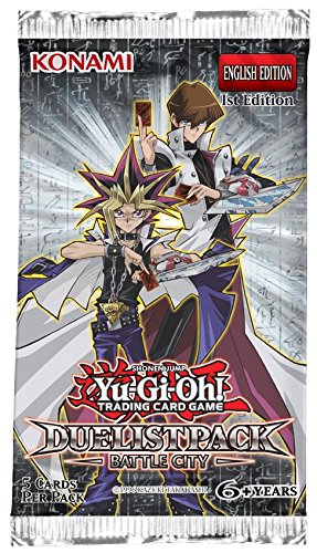 YuGiOh Duelist Pack Battle City Booster Box 1st Ed