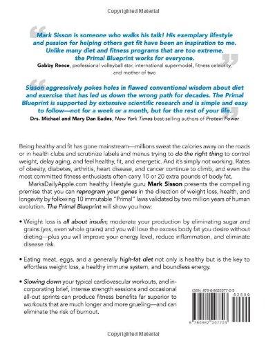 The primal blueprint mark sisson amazon libros malvernweather Choice Image
