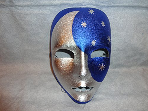 Moon and Stars Drama Mask Halloween -