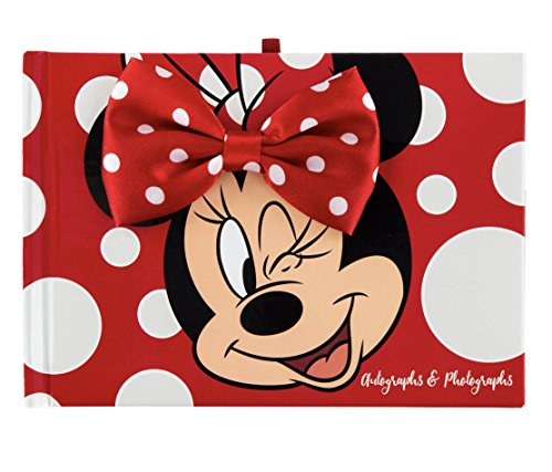 DisneyParks Minnie Mouse Autograph and Photograph Book