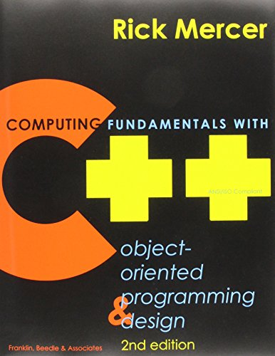 "Computing Fundamentals W/C++ W/3""Disk"
