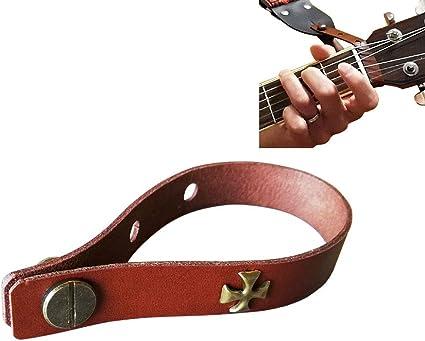 Correa para guitarra acústica con botón adaptador de cabezal ...
