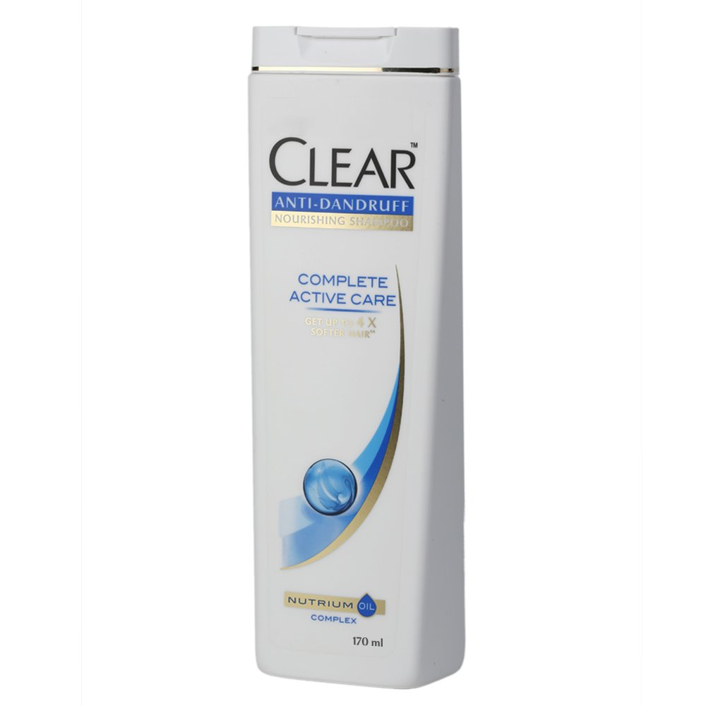 Buy Clear Complete Active Care Anti Dandruff Shampoo 170ml Online At Shampo Csoft 340ml Low Prices In India