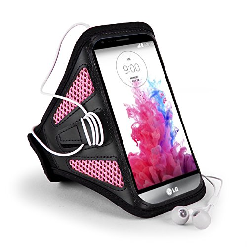 Quality Gym Running Sports Workout Armband Phone Case Cover LG STYLUS 3