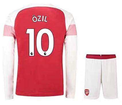 the latest 8e7d1 02090 Amazon.com : ZZXYSY Ozil #10 Arsenal Men's Home Soccer Long ...