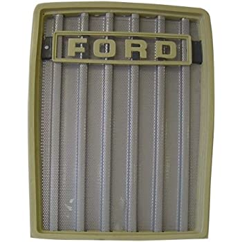 amazon com front grill ford tractor 231 2600 335 3600 3900 4600 515 rh amazon com Ford 5000 Wiring -Diagram Ford Tractor 3000 Series Wiring Diagram