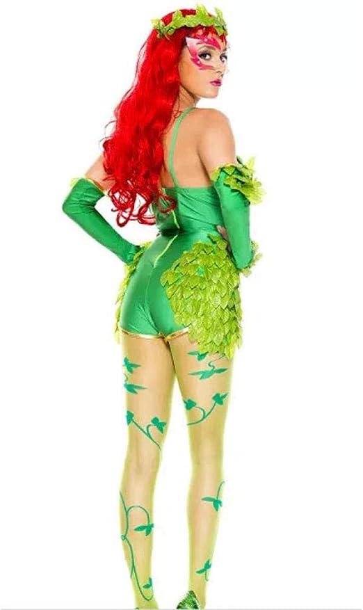 DEXIAOBANG - Disfraz de Mujer para Disfraz de árbol de Hada siamés de Elfo Verde Bosque Femenino: Amazon.es: Ropa y accesorios