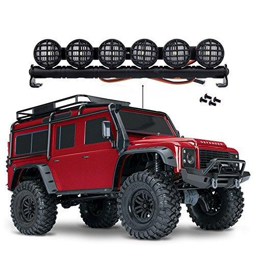 152MM RCクローラー用の多機能LEDライトバーTraxxas TRX-4 TRX4 RC4WD D90アキシャルSCX10 90046ジープラングラー