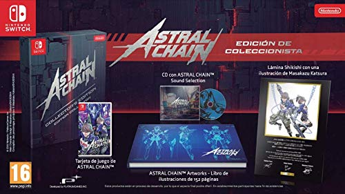 Amazon.com: Astral Chain Limited Edition (Nintendo Switch ...