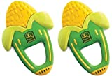 The First Years John Deere Massaging Corn Teether - 2 Count