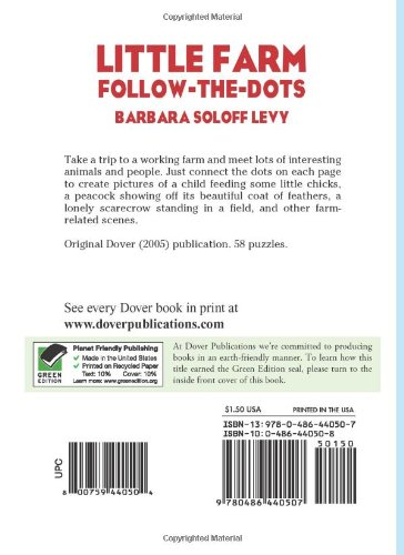 Little Farm Follow-the-Dots (Dover Little Activity Books)