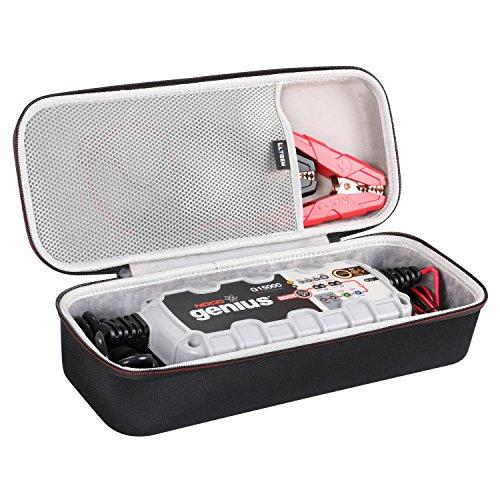 LTGEM for NOCO Genius G15000 12V/24V 15A Pro Series UltraSafe Smart Battery Charger EVA Hard Case Travel Protective Carrying Storage Bag