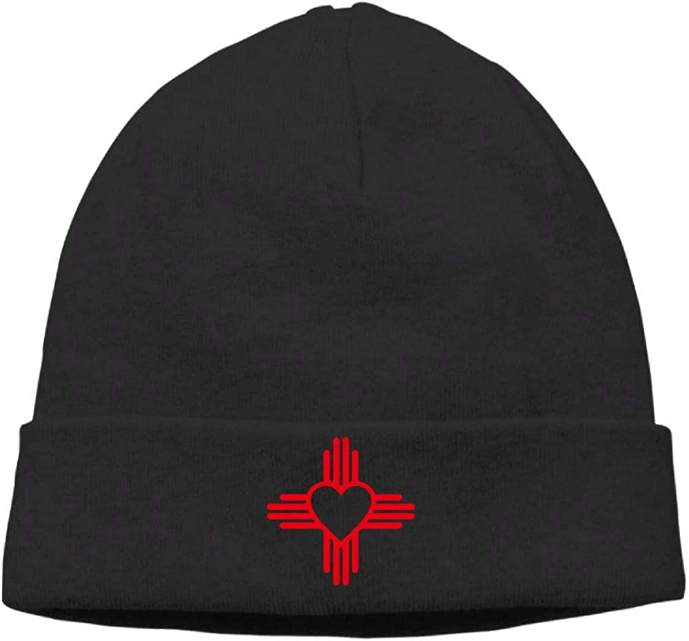 Daily Knit Cap for Mens and Womens New Mexico Sun Zia Stocking Cap