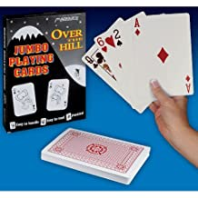 Loftus Over The Hill Playing Cards - Jumbo Size