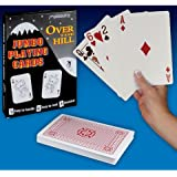Over The Hill - Playing Cards - Jumbo Size, Approx. 7x5 Inches
