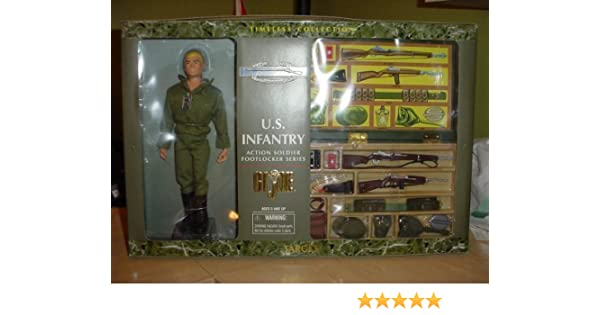 reputable site 3f1f9 604f3 GI Joe Timeless Collection US Infantry Action Soldier Footlocker Series by  Kenner