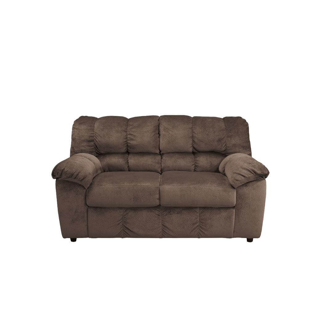 Ashley Furniture Signature Design - Julson Loveseat - Contemporary - Cafe