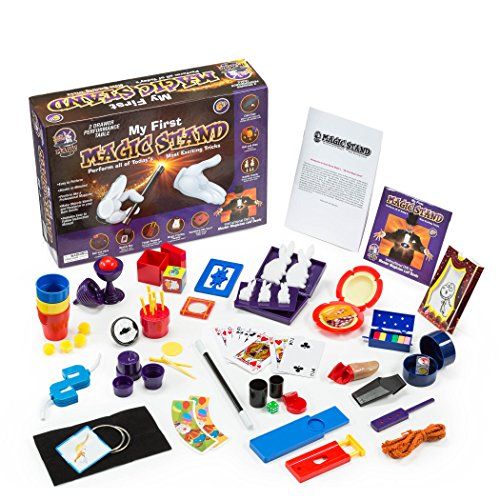 Jumbo Magic Tricks Set for Kids. Perform Hundreds Today's Most Exciting Tricks. Magic Kit with Instructional DVD (Kids Magic Kit)