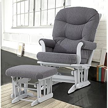 Amazon Com Dutailier Round Back Cushion Design Sleigh