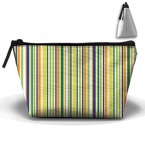 3d Printing Bag Trapezoidal Receive Bag Lines Of Inspiration Bag Pencil Bag Or Cosmetic Bag Zipper ()
