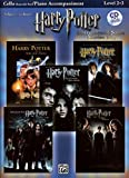 Selections from Harry Potter Movies 1-5, w. Audio-CD, for Cello and Piano Accompaniment (Harry Potter Instrumental Solos (Movies 1-5): Level 2-3)
