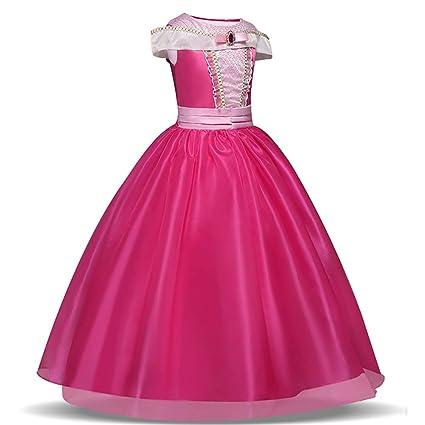 Disfraz de Bella para niñas, disfraces de princesa, para Halloween, para niñas de 4-9 años 4 Años