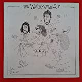 WHO By Numbers LP Vinyl VG++ Cover VG+ MCA 37002
