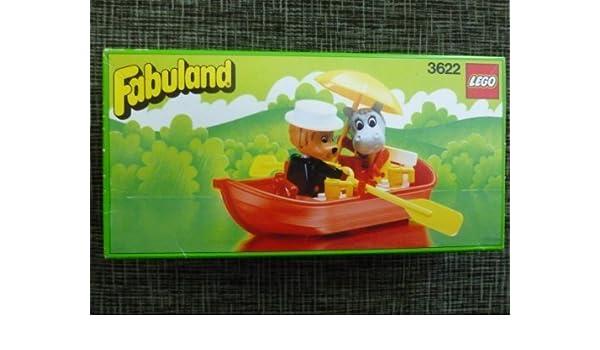 Amazoncom Lego Fabuland Rowboat 3622 Toys Games